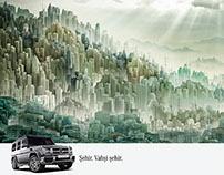 Mercedes Benz Print Ad