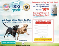 DOGgeviti® DR landing page