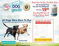 DOGgeviti® DR landing page
