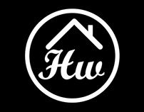"""Home working"" logo"
