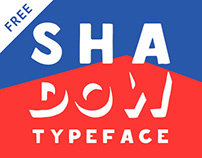 Shadow — free typeface