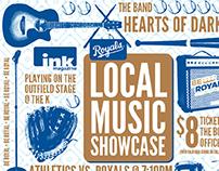 Royals Local Music Showcase