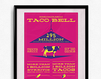 Taco Bell Infographic Poster