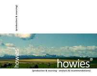 howies® (production & sourcing research project)