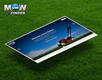Mow Finder   Branding and Website
