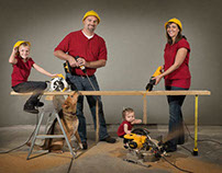 The DIY Family Portrait
