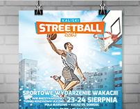 KALISKI STREETBALL 2014 Event Brand Identity