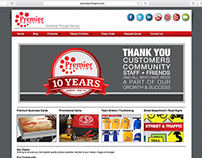 Website - Premier Printing