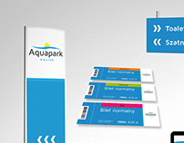 AQUAPARK KALISZ Brand Identity Concept
