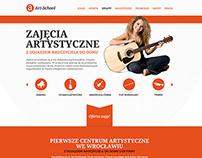 ART-SCHOOL Brand Identity & Website