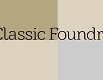 Classic Foundry - Branding