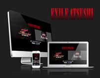 EXILE ATSUSHI SPECIAL WEBSITE