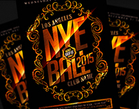 New Years Eve Flyer PSD