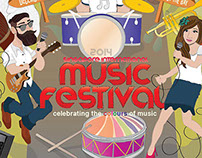 SIMF14 | Singapore Intl Music Festival Poster