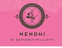 Mendhi Logo Design