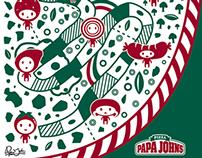 Papa John Pizza Packaging