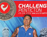 Competitor - Triathlon Poster