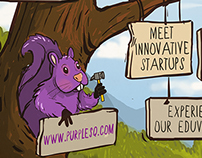 Design for Purple Squirrel Eduventures