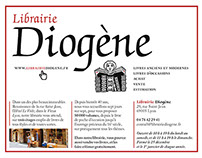 Diogène Bookstore - Lyon - France