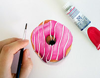 Food Illustration | Donuts