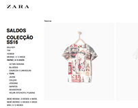 Product Development Zara Boy - Tshirt Series