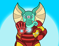 Ganesha is Iron Man