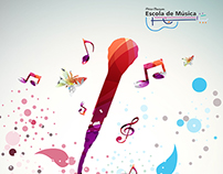 book cover of music