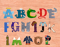 Poster Alphabet in Catalan and Spanish