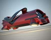 Futuristic hovercar concepts