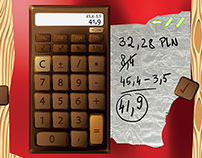 Choco calculator for iPad 3