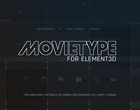 MovieType E3D