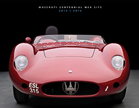 Maserati 100 The Centennial web site