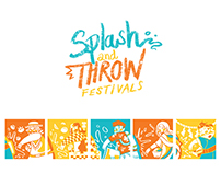 Splash and Throw Festivals