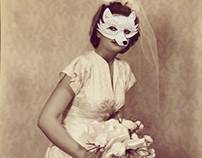 Masked Bride (detail)