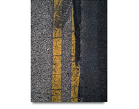 Road Rage#68, 2014 Road Rage Series Digital Photograph.