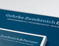 Corporate Design of Gehrke Zumbroich & Partner