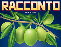 Racconto Olive Oil Poster