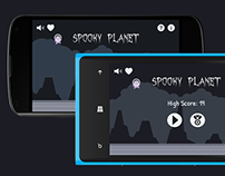 Spooky Planet Game Design