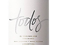 TODOS. Pope´s Francisco mass wine.
