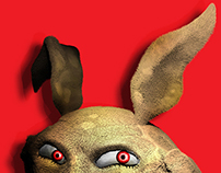 Zbrush Experiments - MAD BUNNY.