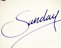 Weekly Calligraphy