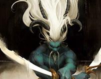 Demon concept illustration