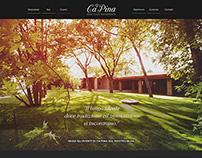 Ca'Pina // Website