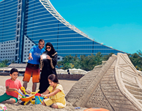 Jumeirah Beach Hotel shoot