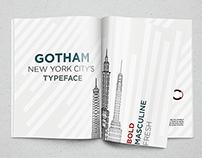 Gotham specimen book
