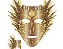 Iran Maiden Mask