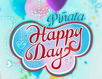 Piñata Happy Day