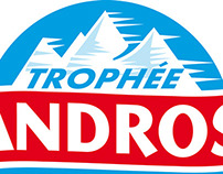 Trophée Andros - Affichage