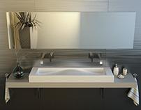 Zomar's Jazz sink interior