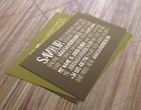 Savour branding